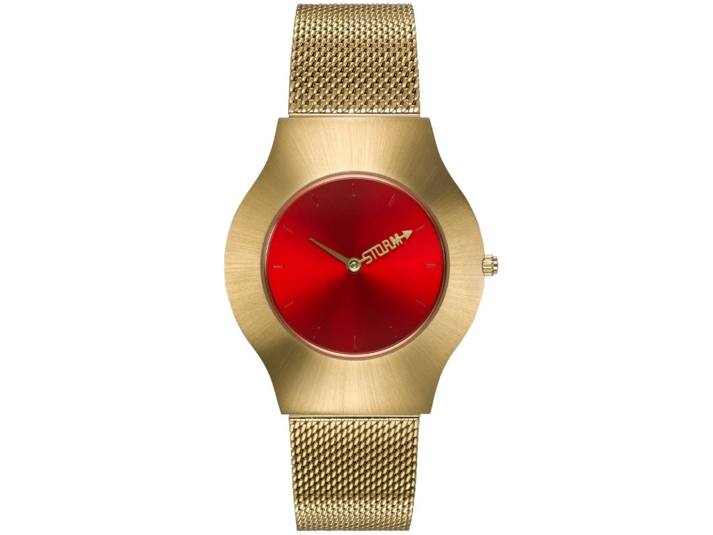 new ion mesh gold red