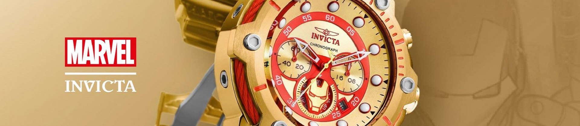Všechny modely MARVEL hodinek.