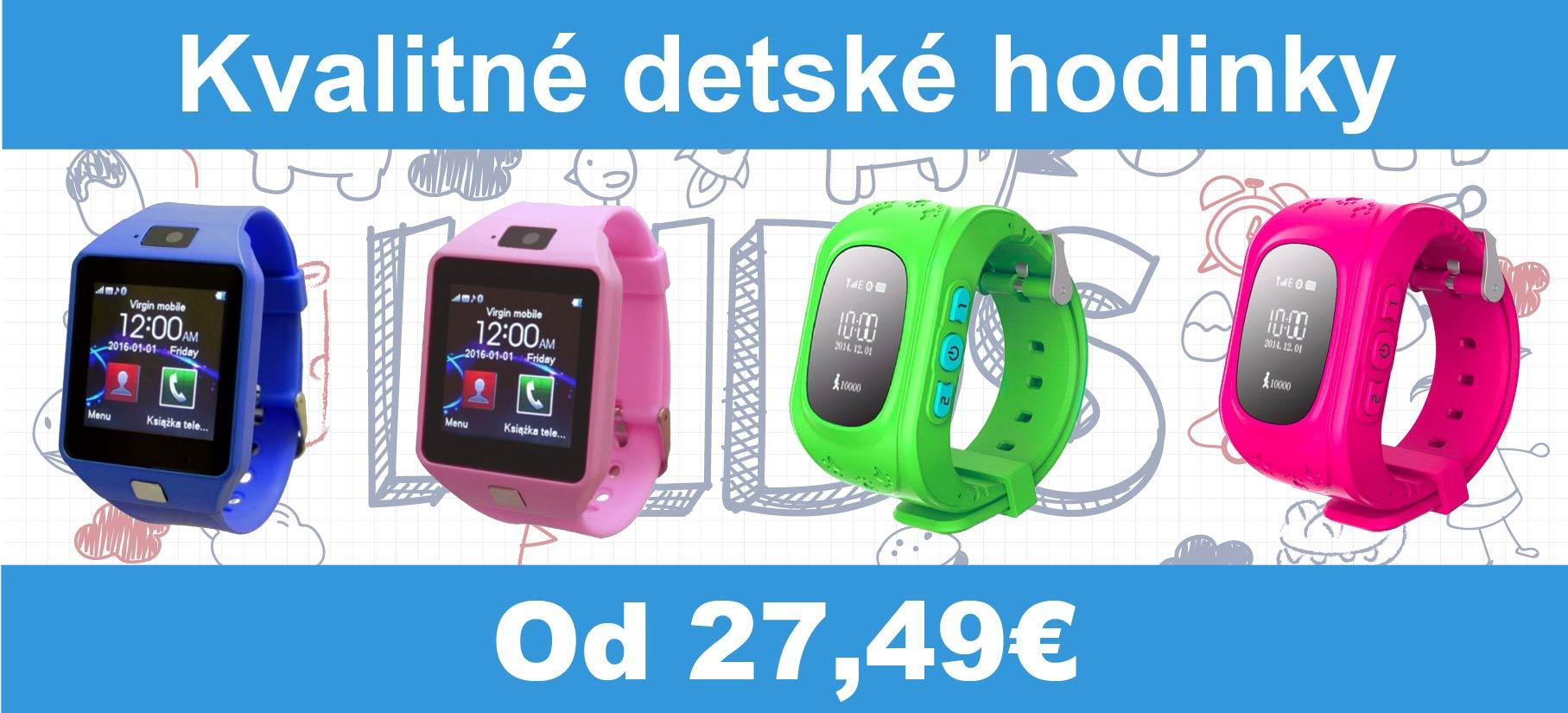 Detské smartwatch banery