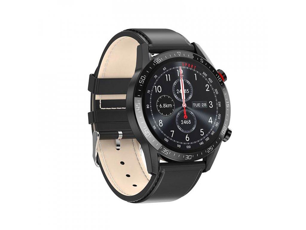 Chytré hodinky Microwear L13 čierna