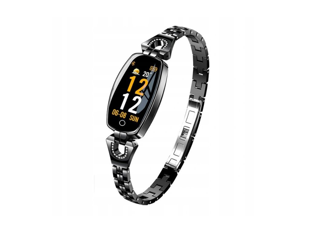 Inteligentné hodinky H8 - čierne
