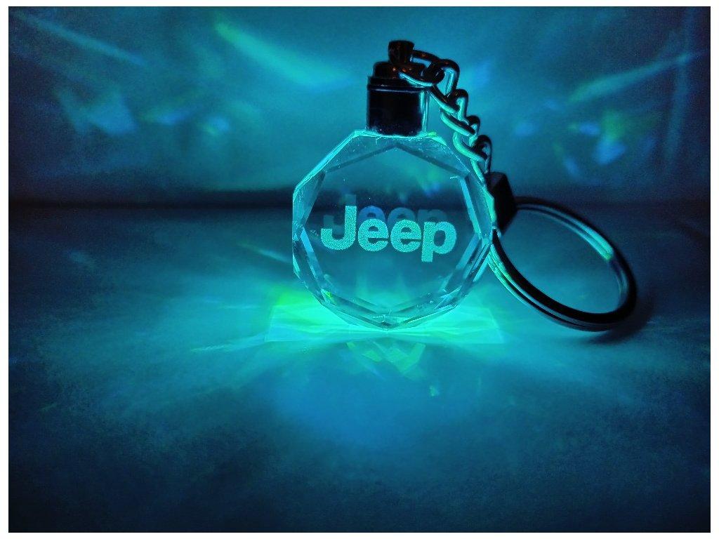 Kľúčenka s logom auta Jeep