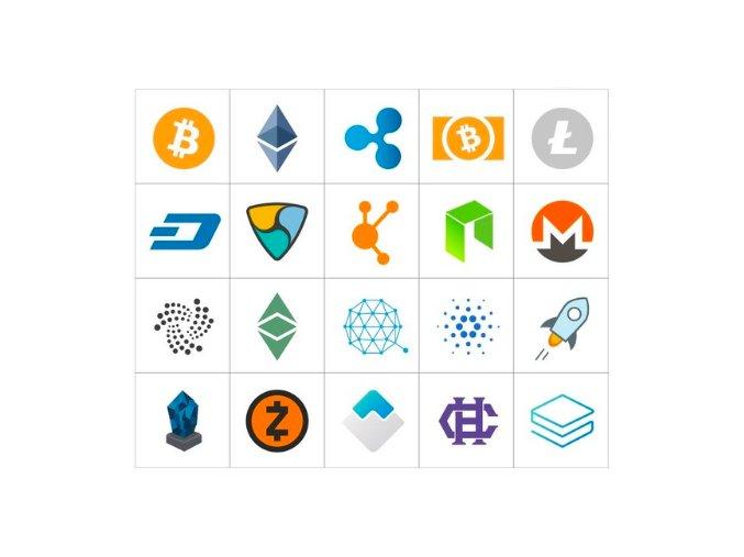 samolepky kryptomeny