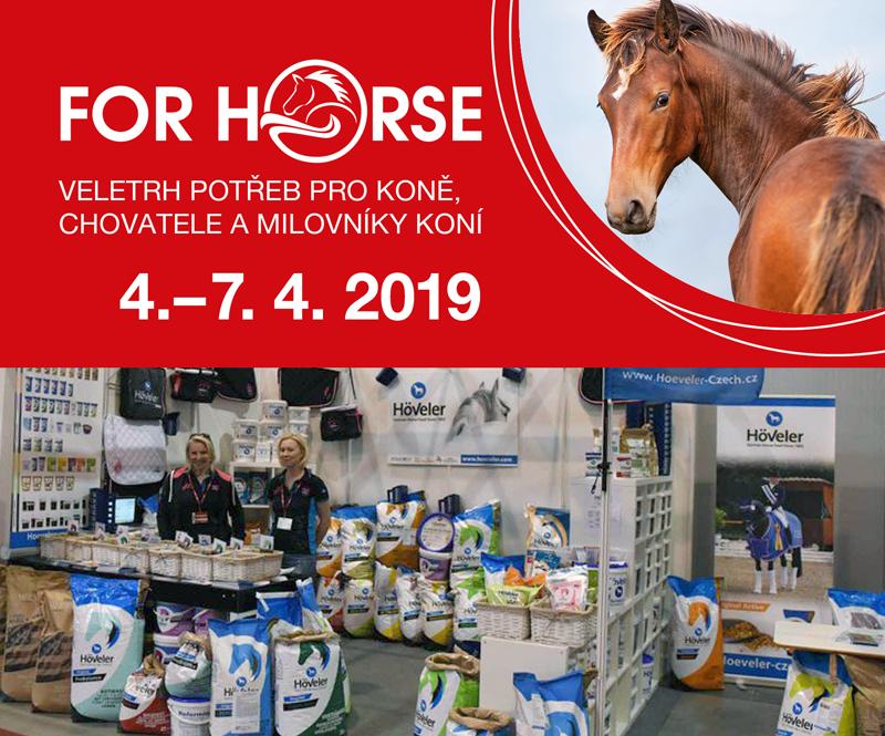 Duben 2019 - FOR HORSE, Praha
