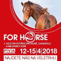 Veletrh For Horse 2018 Praha Letňany