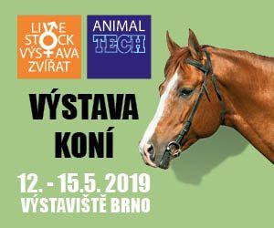 Veletrh Animal Tech Brno 12. - 15. května 2019