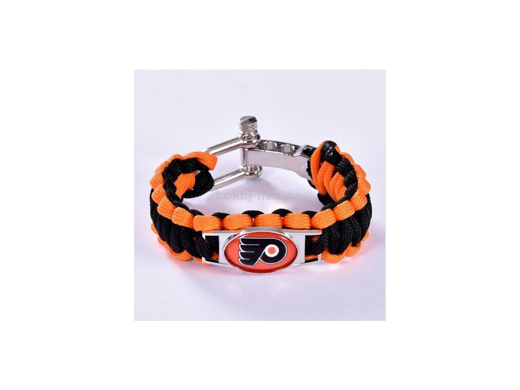 NHL náramek Philadelphia Flyers