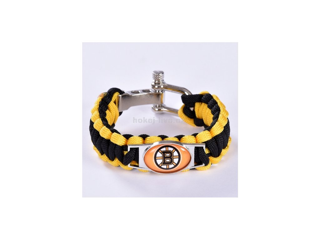 NHL náramek Boston Bruins