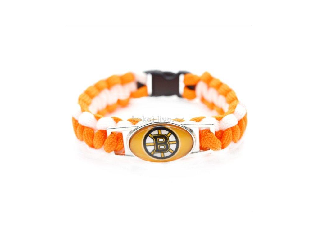 NHL náramek s vaším oblíbeným klubem Boston Bruins