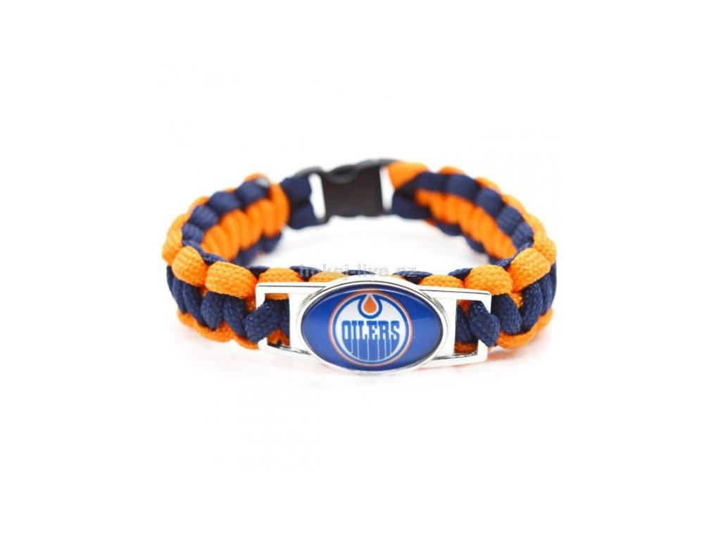 NHL náramek s vaším oblíbeným klubem Edmonton Oilers