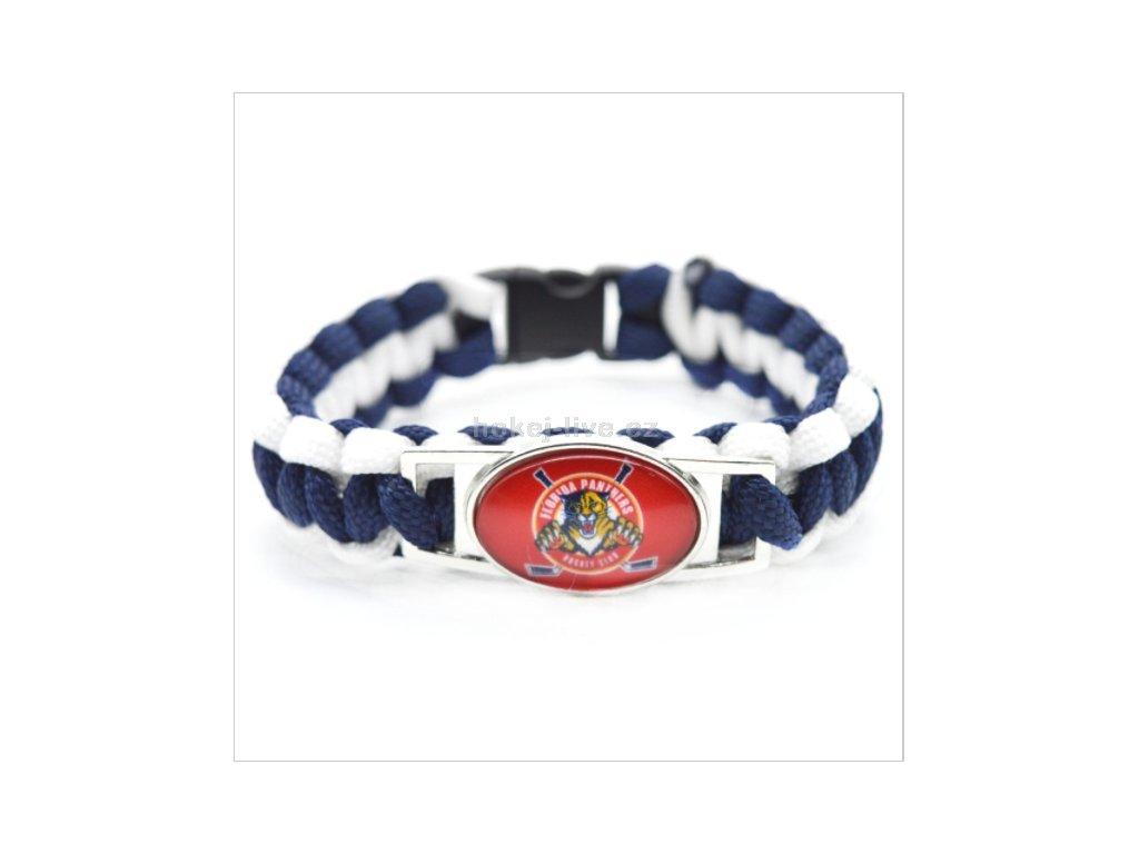 NHL náramek s vaším oblíbeným klubem Florida Panthers