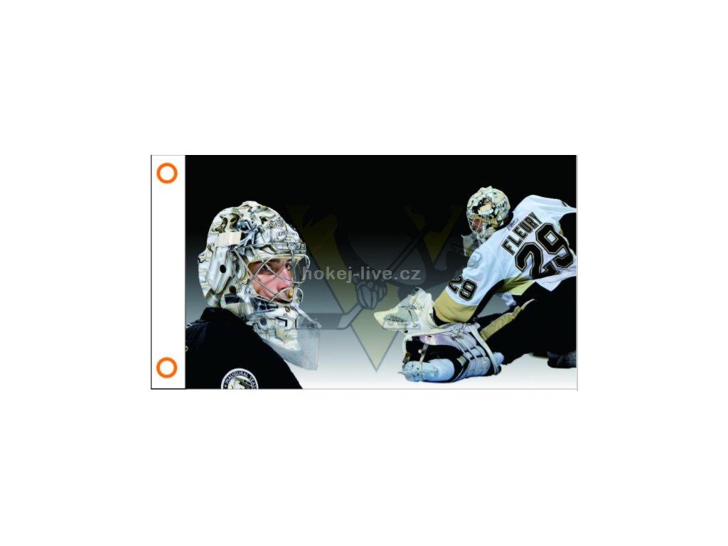 NHLvlajka prapor  Pittsburgh Penguins Marc-Andre Fleury
