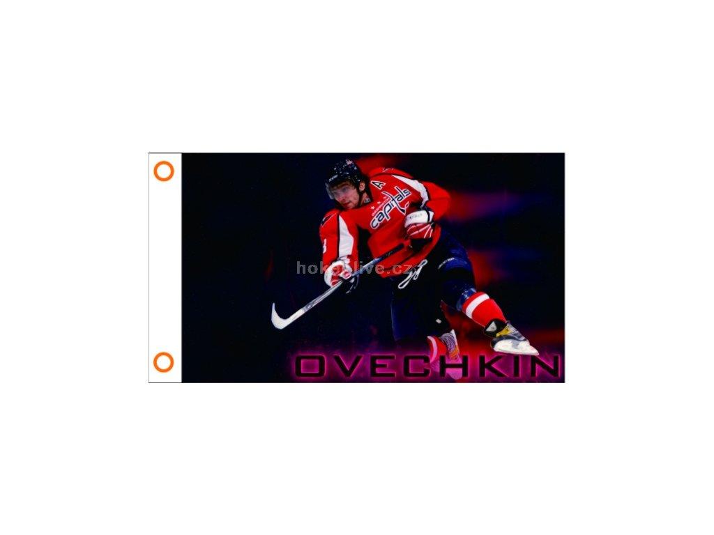 NHL vlajka prapor Washington Capitals Alex Ovechkin