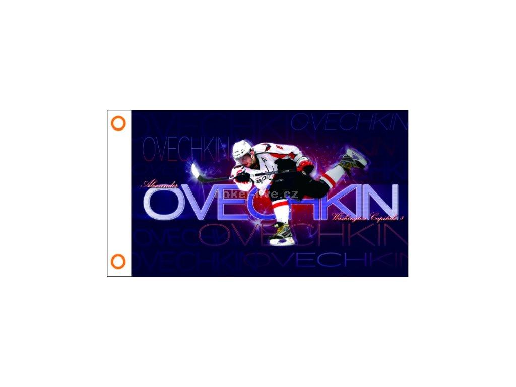 NHL vlajka prapor Washington Capitals Alex Ovechkin Akcion