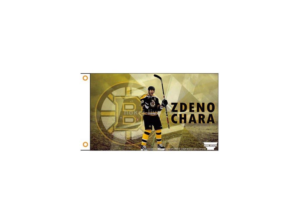 NHL vlajka prapor Boston Bruins Zdeno Cháro