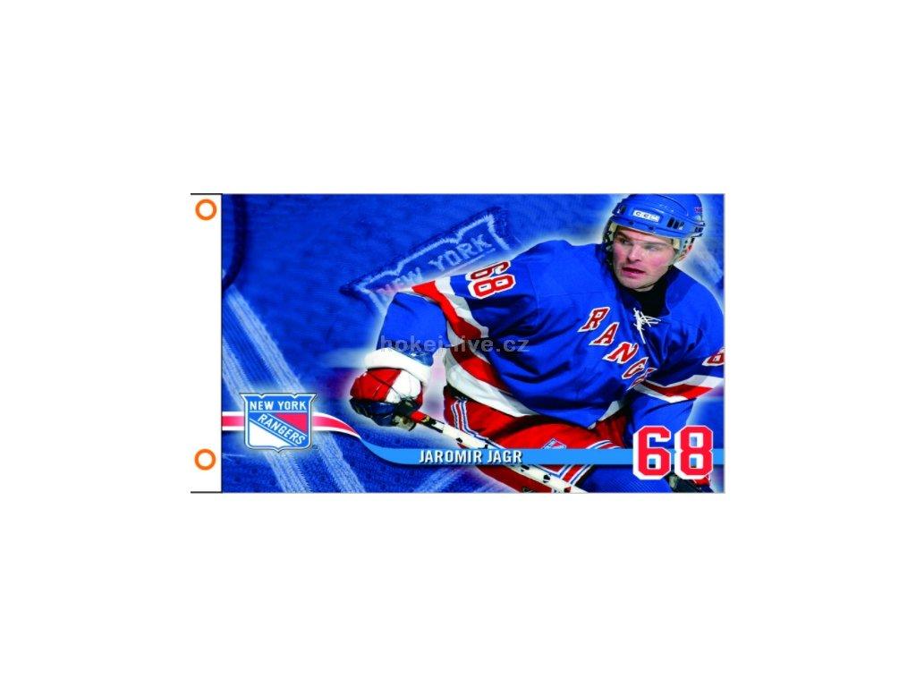 NHL vlajka prapor New York Jaromír Jágr