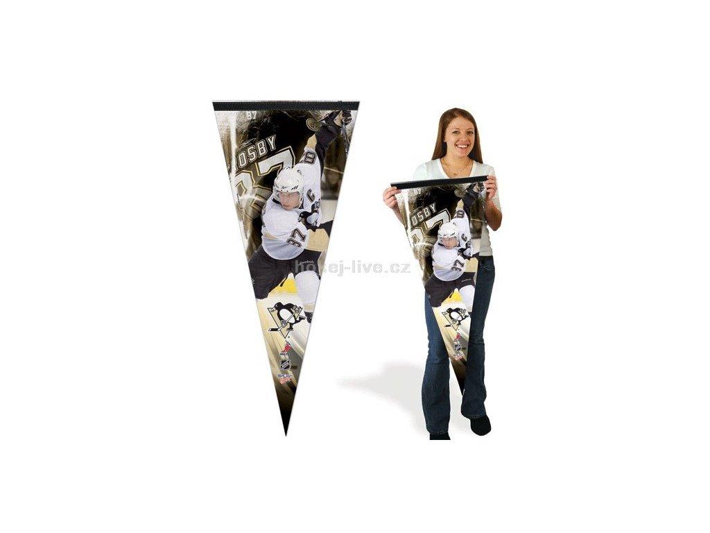 NHL praporek - Pittsburgh Penguins Sidney Crosby