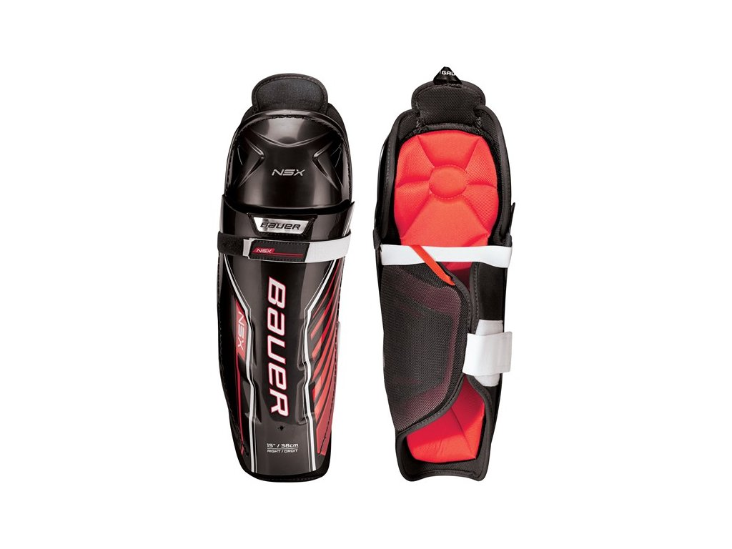 Holeně BAUER S18 NSX SHIN GUARD - JR (1053024)