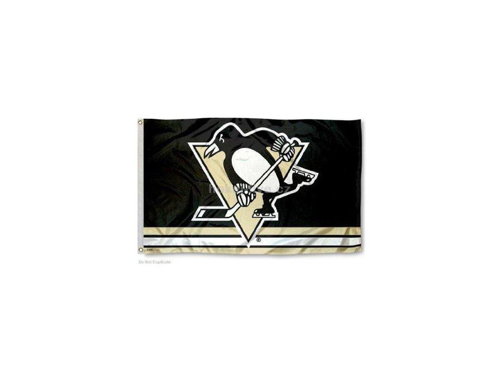 NHL vlajka Pittsburgh Penguins
