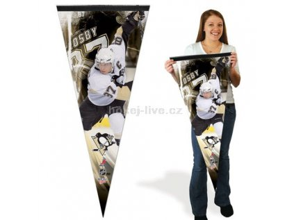 NHL praporek - Pittsburgh Penguins Sidney Crosby