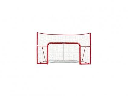 """Hokejová branka Base 72"""" + Postranní Síť Stand-alone"""