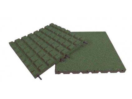 pryzova deska 1x1 m zelena vyska padu 2 3m p5171