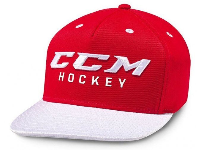 ccm cap true2hockey snap red 1