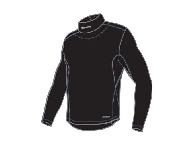 Ribano - Triko Bauer Core LS Integrated Neck Top Senior