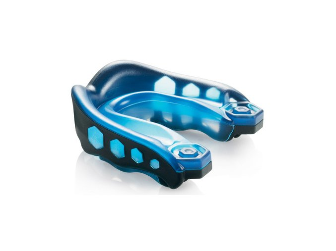 Chránič zubů Shock Doctor GEL MAX Black/Blue