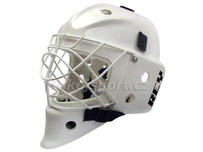 Brankářská maska Rey HOMG-019 FG CAT EYE Junior White