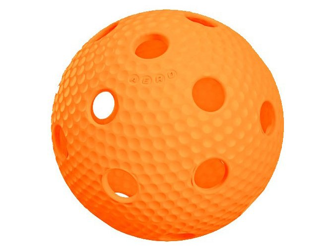 Florbalový míček Salming Aero Plus Ball Orange