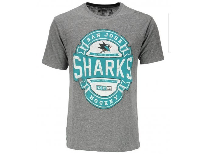 Triko CCM Game Tested NHL San Jose Sharks