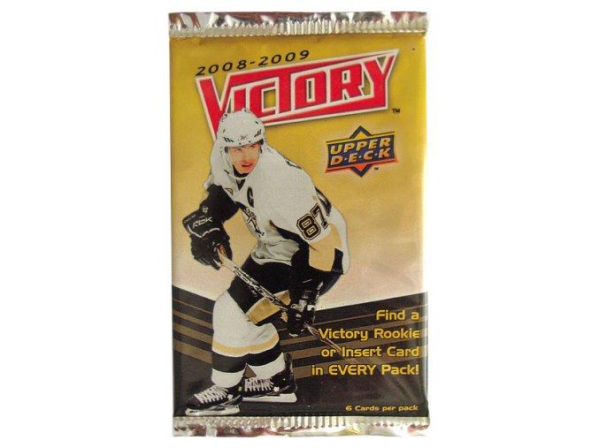 Hokejové kartičky NHL Upper Deck Victory 2008/09