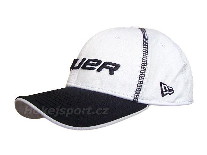 Kšiltovka Bauer New Era 39Thirty® Pre-Game Cap White