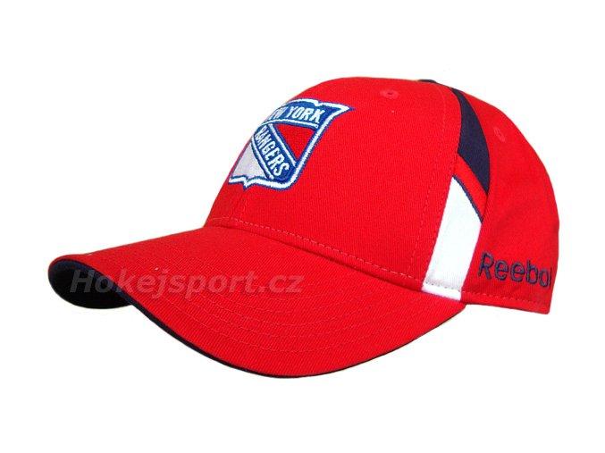 Kšiltovka Reebok NHL Structured Adj. New York Rangers Junior