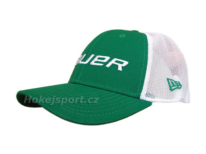 Kšiltovka Bauer New Era 39Thirty® Mesh Back Cap Green