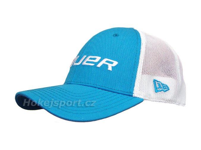 Kšiltovka Bauer New Era 39Thirty® Mesh Back Cap Blue