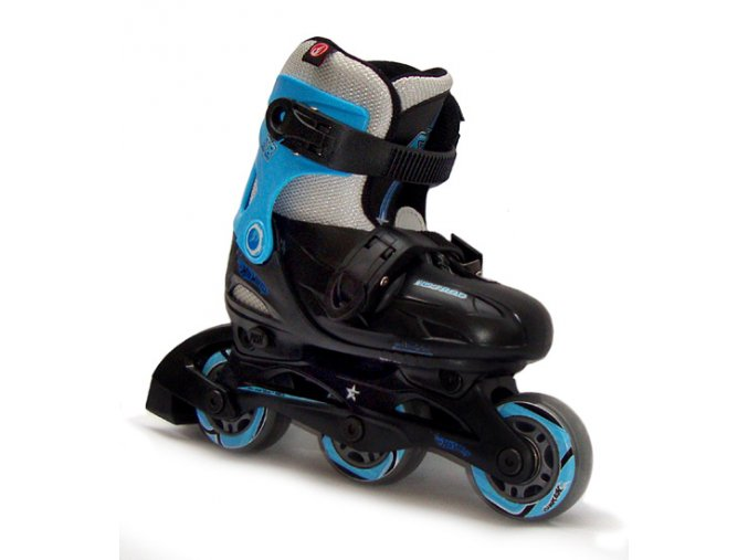 In-line brusle Powerslide Hot Rod Black/Blue