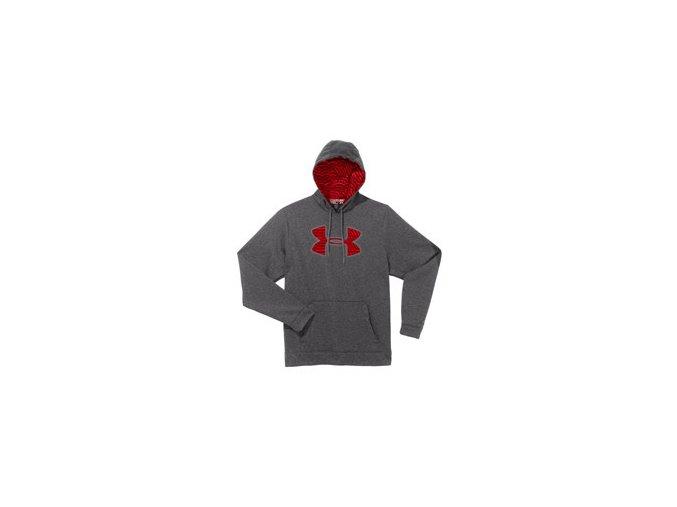 Mikina Under Armour Fleece Storm Big Logo Grey