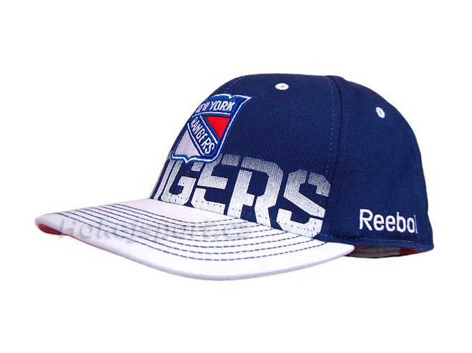 Kšiltovka Reebok NHL Pro Shape Fitted New York Rangers