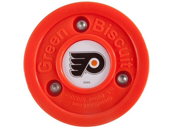 Tréninkový off-ice puk Green Biscuit NHL Philadelphia Flyers