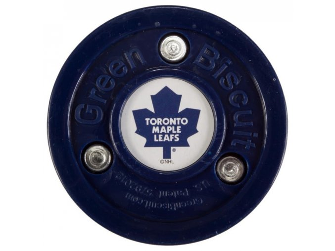 Tréninkový off-ice puk Green Biscuit NHL Toronto Maple Leafs