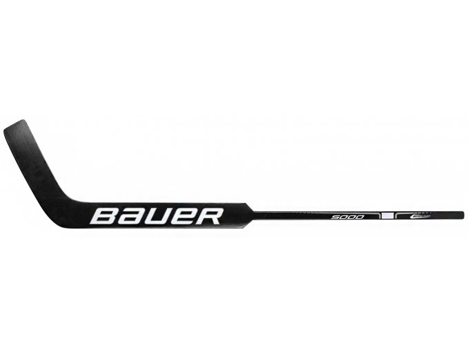 Brankářská hůl Bauer Reactor 5000 Wood BLACK Junior