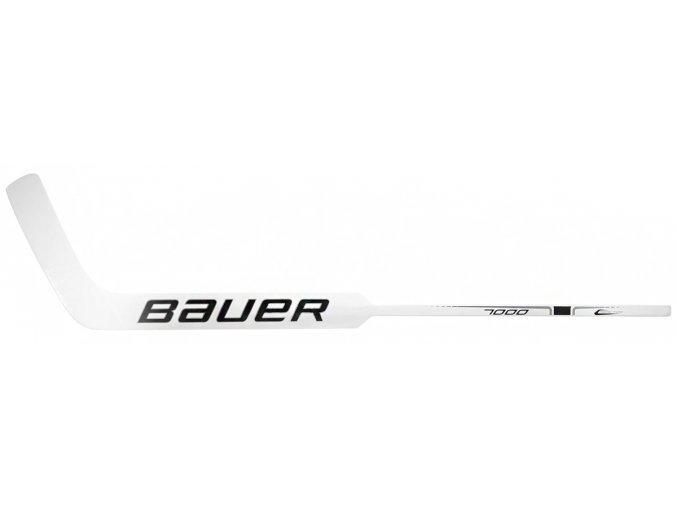 Brankářská hůl Bauer Reactor 7000 Foam Core White-Black Senior
