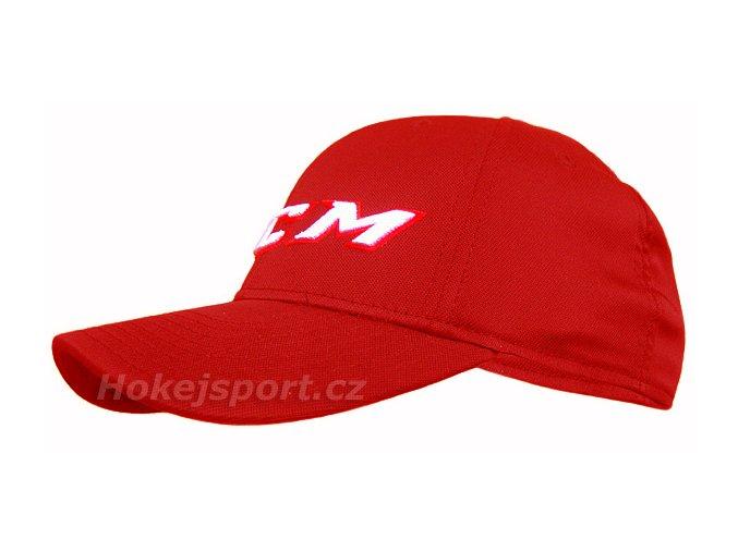 Kšiltovka CCM Team Cap Red