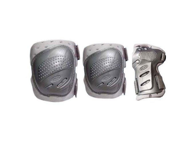 In-line chrániče Tempish Cool Max Silver - 3 sada