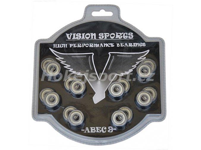 Ložiska Vision ABEC 9 (16 ks)
