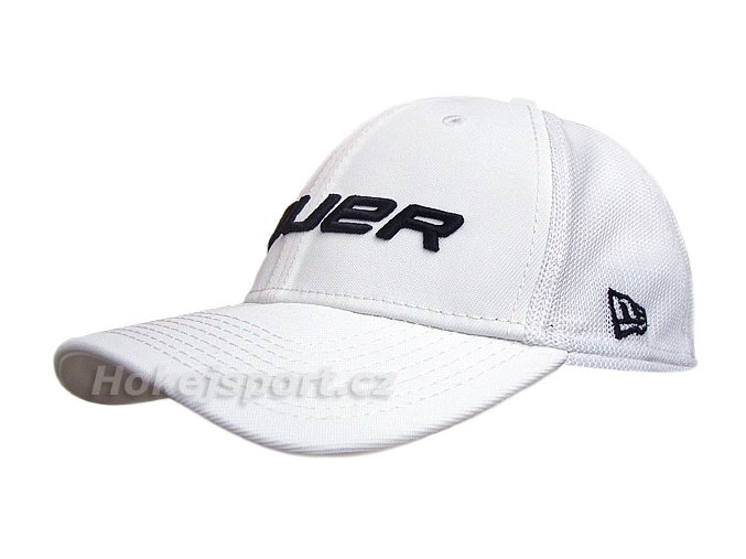 Kšiltovka Bauer New Era 39Thirty® Mesh Back Cap White