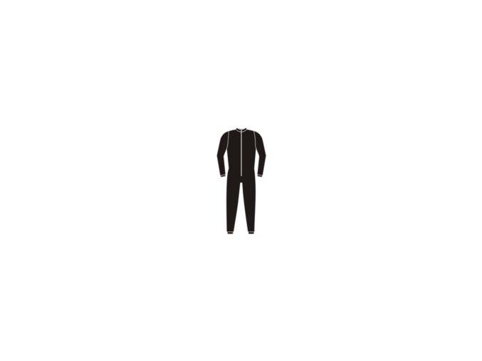 Ribano bavlna dlouhé černé Junior