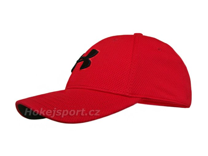 Kšiltovka Under Armour Blitzing II Stretch Cap Red